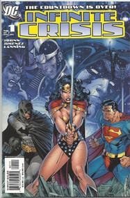Infinite Crisis 1, 2, 3, 4, 5, 6, 7 -- Jim Lee covers Johns Jimenez -- COMIC00000036