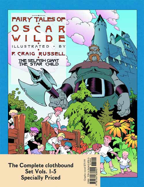 Tales Of Oscar Wilde Complete HC Set Vol 1-5 -- DEC131212