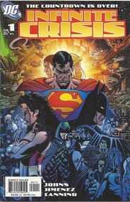 Infinite Crisis 1, 2, 3, 4, 5, 6, 7 George Perez covers Johns Jimenez -- COMIC00000040