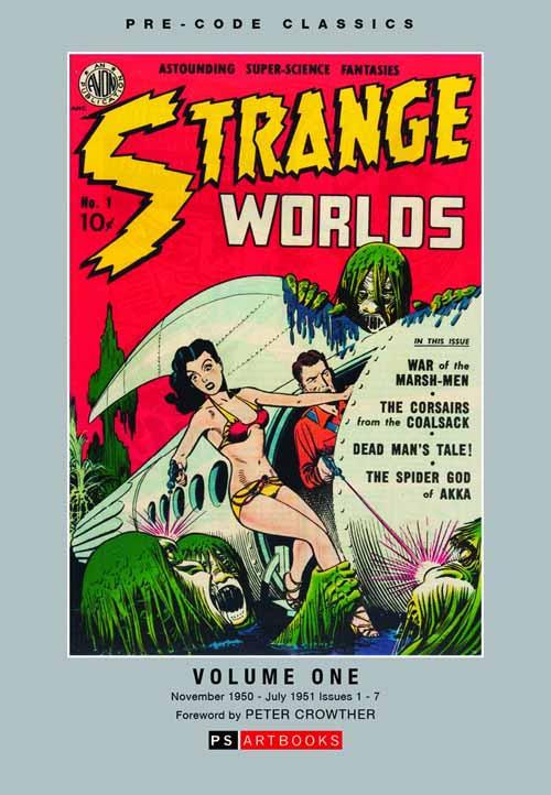 Pre Code Classics Strange Worlds HC Vol 01 -- DEC131251