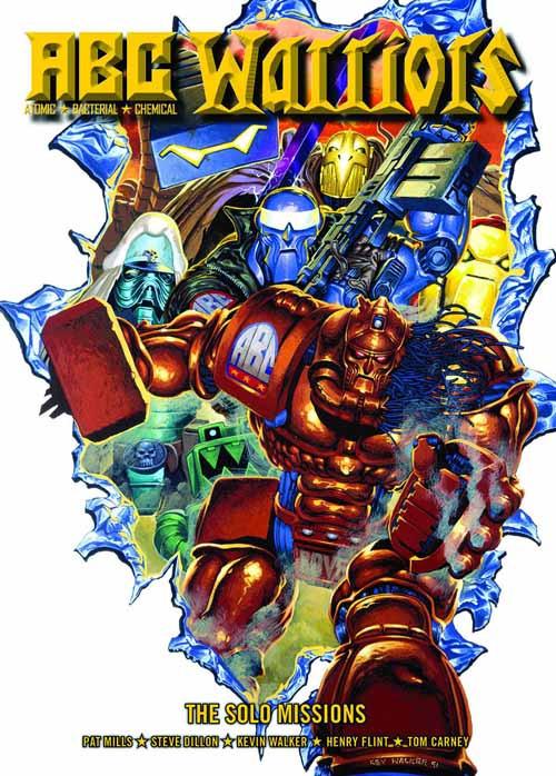 Abc Warriors Solo Missions Graphic Novel GN -- DEC131257