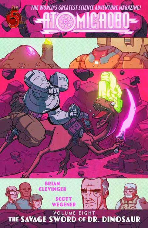 Atomic Robo TPB Vol 08 Savage Sword Of Dr Dinosaur -- DEC131266