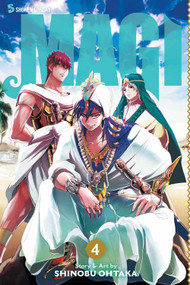 Magi Graphic Novel GN Vol 04 -- DEC131342
