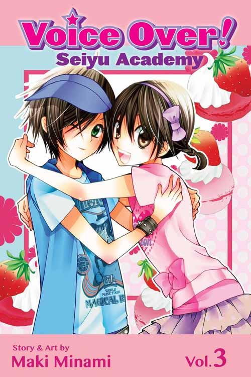 Voice Over Seiyu Academy Graphic Novel GN Vol 03 -- DEC131344