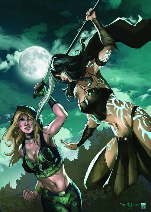 GFT Robyn Hood Age Of Darkness D Cover Qualano (aofd) -- DEC131369