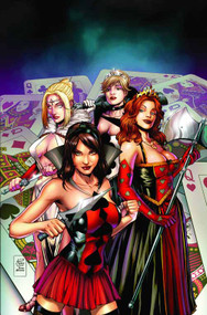 GFT Wonderland Clash Of Queens #1 of 5 A Cover Spay (aofd) -- DEC131380