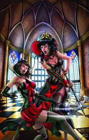 GFT Wonderland Clash Of Queens #1 of 5 B Cover Reyes (aofd) -- DEC131381