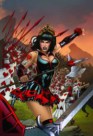 GFT Wonderland Clash Of Queens #1 of 5 D Cover Ortiz (aofd) -- DEC131383
