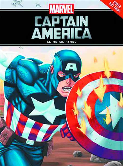 Captain America Origin Story Yr HC -- Avengers -- DEC131411