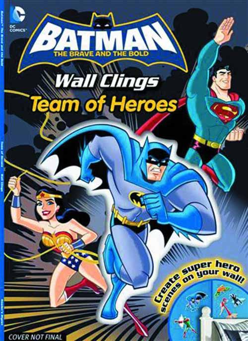 DC Batman Team Of Heroes Wall Clings SC -- Dark Knight -- DEC131412