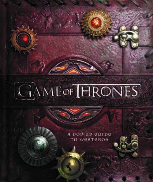 Game Of Thrones Pop Up Guide To Westeros HC -- DEC131427