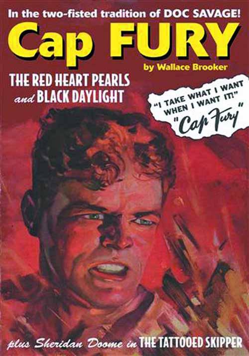 Cap Fury Double Novel Vol 01 -- DEC131430