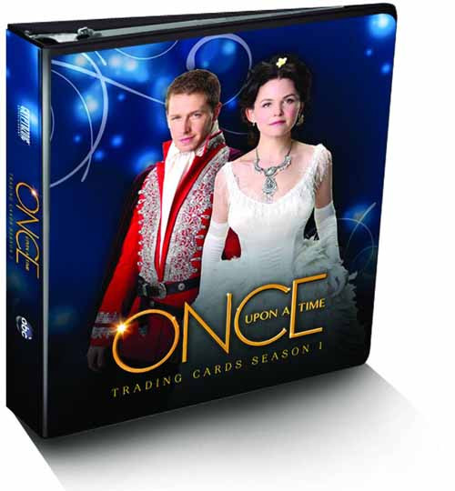 Once Upon A Time Season 1 Trading Cards Binder --Cryptozoic -- DEC131480