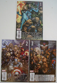 Ultimatum 1, 2, 3, 4, 5 Marvel Avengers X-Men Fantastic Four Finch -- COMIC00000074-001