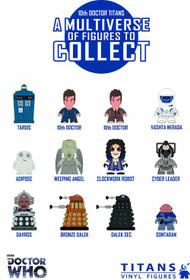 Doctor Who Titans Mini Figure 20pc BMB Display Series 02 -- DEC131850