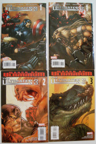Ultimates 3 #1 Gatefold Heroes Var, 1 Gatefold Villains Var 2, 3, 4, 5 -- COMIC00000074-003