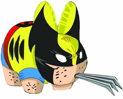 Marvel Wolverine Labbit -- Avengers X-Men X-Force -- DEC131857