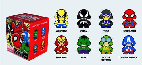 Marvel Micro Munny 20pc Blind Mystery Box BMB Display -- DEC131858