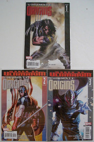 Ultimate Origins 1, 2, 3, 4, 5 Wolverine X-Men Avengers Bendis Guice -- COMIC00000074-004