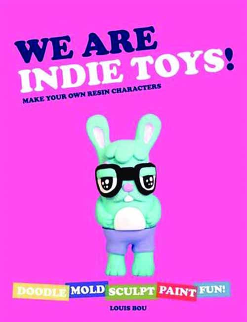 We Are Indie Toys Make Own Resin Characters SC -- DEC131867
