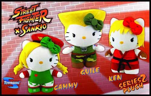Sanrio X Street Fighter Cammy 10-in Plush -- DEC131868