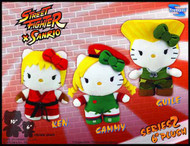 Sanrio X Street Fighter Cammy 6-in Mini Plush -- DEC131871