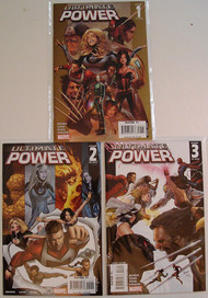 Ultimate Power 1, 2, 3, 4, 5, 6, 7, 8, 9 Avengers X-Men Bendis Land -- COMIC00000074-005