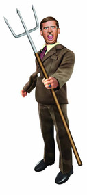 Anchorman 8in Battle Ready Brick Tamland Figure -- DEC131887