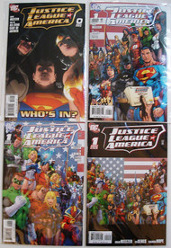 Justice League Of America 2006 0, 1 A, 1 B, 1 2nd, 2, 3, 4 Batman -- COMIC00000075-001