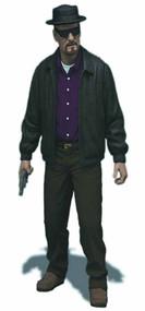 Breaking Bad Walter White 6-in Action Figure -- Mezco -- DEC131890
