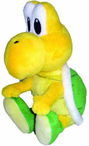 Super Mario Bros Koopa Troopa 5in Plush -- Nintendo -- DEC131908