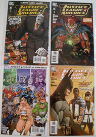 Justice League Of America 2006 5, 6, 7, 8, 9, 10, 12 Batman Meltzer -- COMIC00000075-002