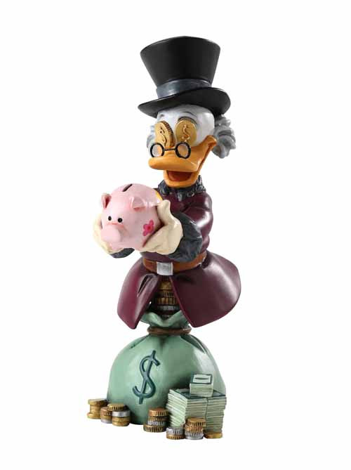 Grand Jester Uncle Scrooge Mcduck Mini-Bust -- DEC131915