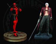 Deadpool Vs Dante 1/4 Scale Statue Set -- X-Men X-Force -- DEC131930