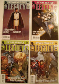 Star Wars Legacy 7, 8, 9, 10, 11, 12, 13, 14 Ostrander Duursema -- COMIC00000081-002