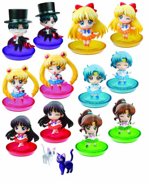 Sailor Moon Ps Petit Chara Land 6pc BMB Display -- DEC131947