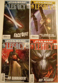 Star Wars Legacy 19, 20, 21, 22, 23, 24, 25 Ostrander Duursema -- COMIC00000082-001