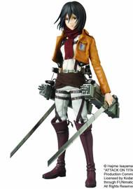 Attack On Titan Mikasa Ackerman Real Action Hero -- Medicom -- DEC131949