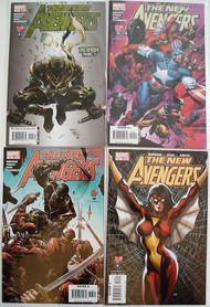 New Avengers 11, 12, 13, 14, 15, 16, 17, 18 Wolverine Iron Man Bendis -- COMIC00000084-001
