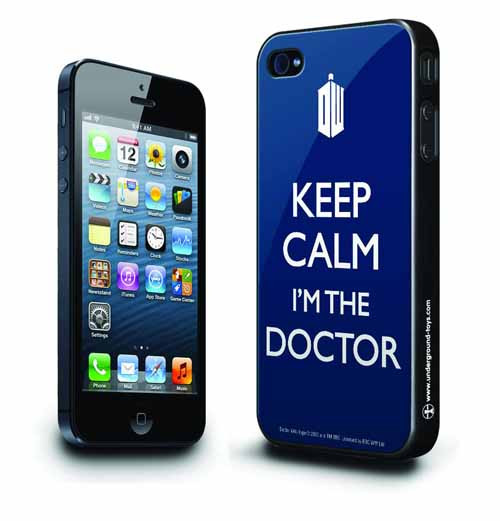 Doctor Who Keep Calm iPhone 5 Case -- DEC131977