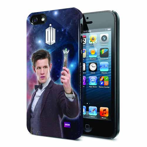 Doctor Who Matt Smith iPhone 5 Case -- DEC131979