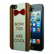 Doctor Who Bow Ties Are Cool iPhone 5 Case -- DEC131982