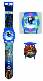 Doctor Who Flashing LCD Watch -- DEC131989
