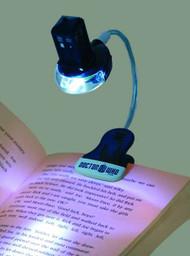 Doctor Who UV Clip On Book Light Tardis -- DEC131991
