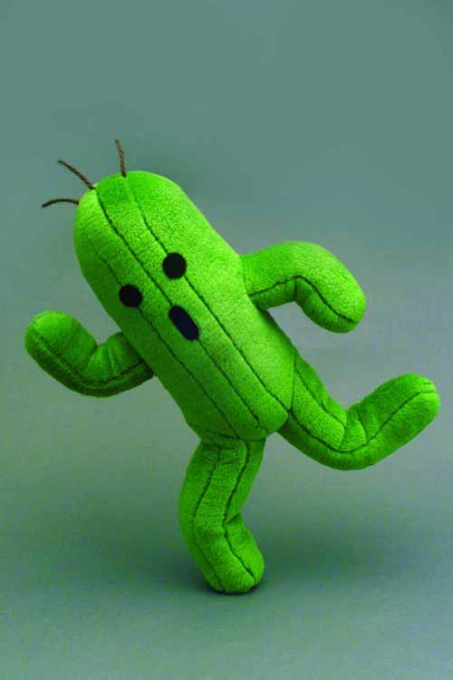 Final Fantasy Series Plush Cactuar 2014 -- Square Enix -- DEC131996
