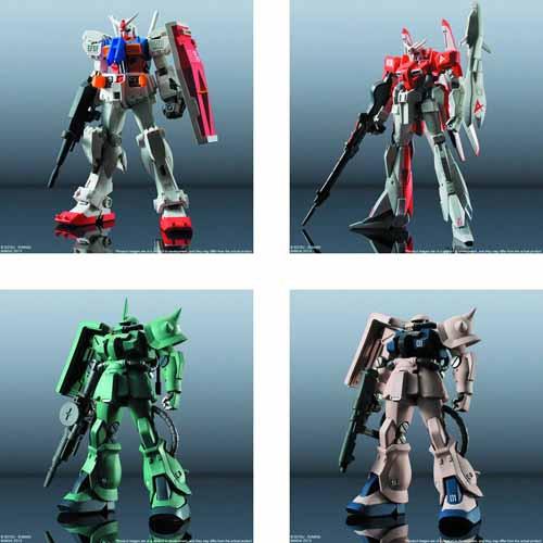 FW Gundam Standart Trad Figure 6pc Asst Series 19 -- Bandai -- DEC132002