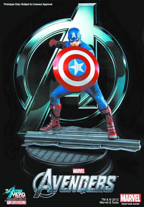 Avengers Captain America PX Ahv -- DEC132022