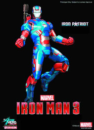 Iron Man 3 Iron Patriot PX Ahv -- Avengers -- DEC132024