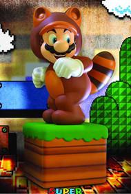 Super Mario 3D Land Tanooki Suit Mario Statue -- Nintendo -- DEC132033