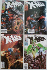 Uncanny X-Men 475, 476, 477, 478, 479, 480 Shi'Ar Empire Brubaker Tan -- COMIC00000088-001